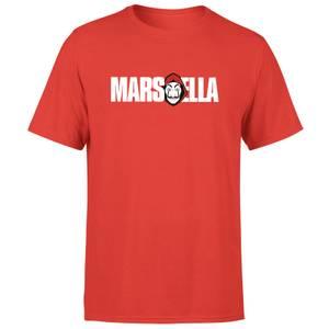 Camiseta La Casa de Papel Marsella Hombre - Rojo
