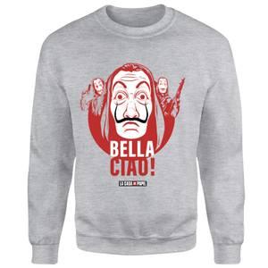 Money Heist Bella Ciao Sweatshirt - Grey