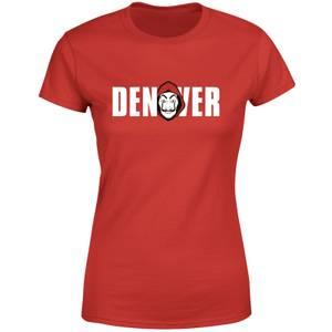 Money Heist Denver Women's T-Shirt - Red
