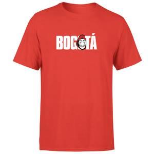 Camiseta La Casa de Papel Bogotá Hombre - Rojo