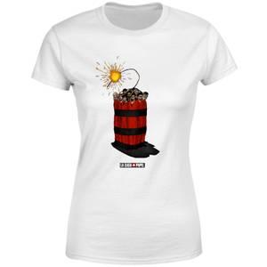 Money Heist Dynamite Women's T-Shirt - White
