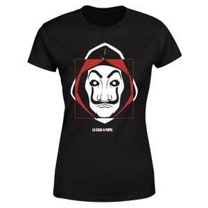 Money Heist Dali Mask Women's T-Shirt - Black