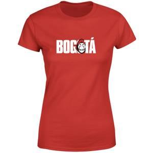 La Casa de Papel Bogotá Camiseta de mujer - Rojo