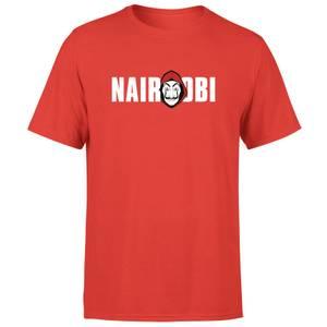 Camiseta La Casa de Papel Nairobi Hombre - Rojo