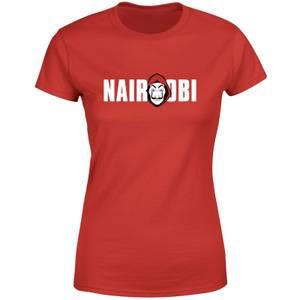 Money Heist Nairobi Women's T-Shirt - Red