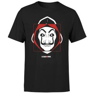 Money Heist Dali Mask Men's T-Shirt - Black