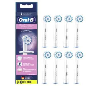 Oral-B Sensitive Clean Aufsteckbürsten mit ultra-dünnen Borsten für sanfte Reinigung, 8Stück