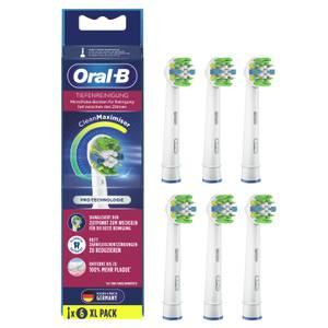 Oral-B Tiefenreinigung Aufsteckbürsten mit CleanMaximiser-Borsten für tiefe Reinigung zwischen den Zähnen, 6Stück