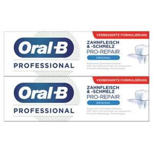 Doppelpack Oral-B Professional Zahnfleisch&-schmelz Pro-Repair Zahncreme 2x75ml
