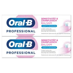 DoppelpackOral-B Sensitivität & Zahnfleisch Balsam Sanfte Reinigung Zahncreme 2x75ml
