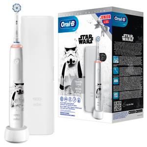 Oral-B Junior Elektrische Zahnbürste Star Wars Special Edition mit Reiseetui
