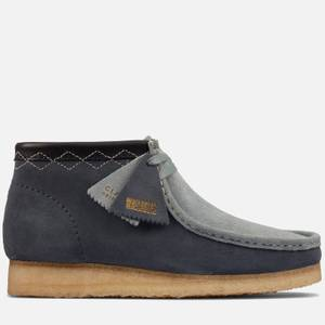 Clarks Originals Men's Stitch Pack' Suede Wallabee Boots - Blue Combi