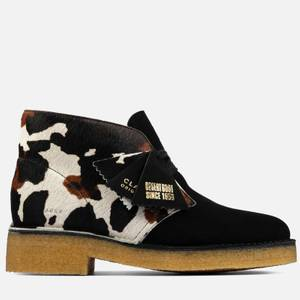 Clarks Originals Women's Cow Print Pack' 221 Desert Boots - Cow Print