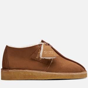 Clarks Originals Women's Warm Lined Pack' Desert Trek Shoes - Tan