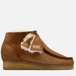 Clarks Originals Women's Warm Lined Pack' Wallabee Boots - Tan