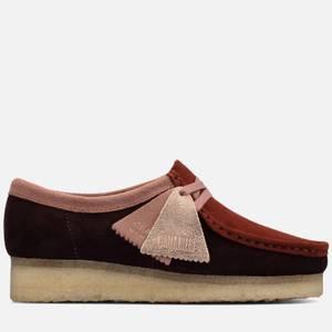 Clarks Originals Women's Wallabee Suede Shoes - Rose