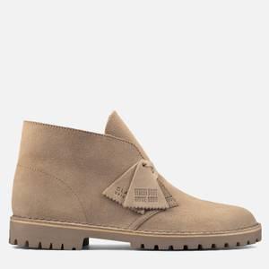 Clarks Originals Men's Suede Desert Rock Boots - Sand