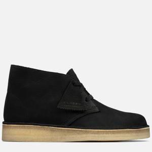 Clarks Originals Women's Desert Coal Nubuck Boots - Black