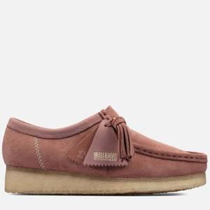 Clarks Originals Women's Wallabee Suede Shoes - Dusty Pink