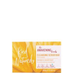 Kind Natured Awaken Grapefruit & Orange Cleansing Scrub Bar - 100g