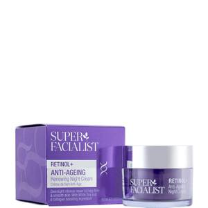 Super Facialist Retinol+ Anti-Ageing Renewing Night Cream - 50ml