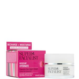 Super Facialist Rosehip Hydrate Peaceful Skin Night Cream - 50ml