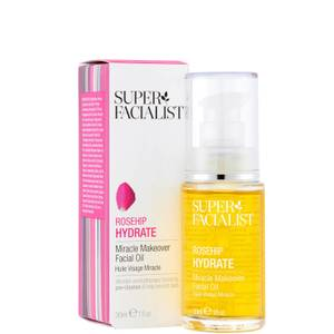 Super Facialist Rosehip Hydrate Miracle Makeover Facial Oil - 30ml