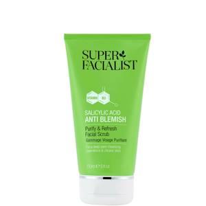 Super Facialist Salicylic Acid Anti Blemish Purify & Refresh Facial Scrub - 150ml