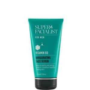 Super Facialist for Men Vitamin B3 Invigorating Face Scrub - 150ml