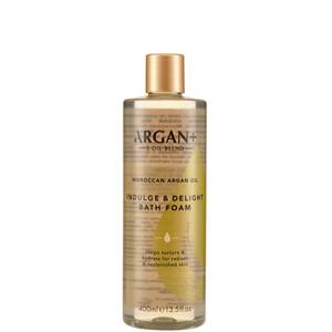 Argan+ Moroccan Argan Oil Indulge & Delight Bath Foam - 400ml