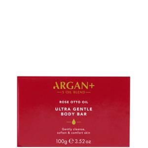 Argan+ Rose Otto Oil Ultra Gentle Soap Bar - 100g