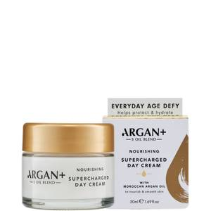 Argan+ Moroccan Argan Oil Hydrating Super Charged Day Cream - 50ml