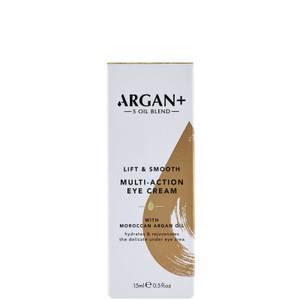 Argan+ Moroccan Argan Oil Lift and Smooth Multi Action Eye Cream - 15ml