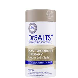 DrSALTS+ Post Workout Therapy Epsom Salts