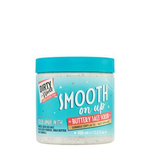 Dirty Works Smooth On Up Buttery Salt Scrub - 400ml
