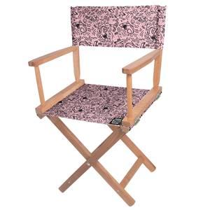 Decorsome Jaws Pink Doodle Directors Chair