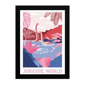 Jurassic World Tropical Dino Giclee Art Print