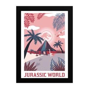 Jurassic World Tropical Giclee Art Print