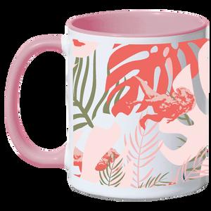 Jurassic World Tropical T Rex Mix Mug - Pink