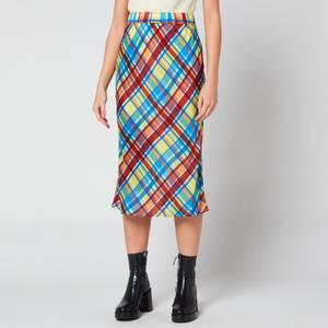 Simon Miller Women's Moonie Skirt - Retro Plaid
