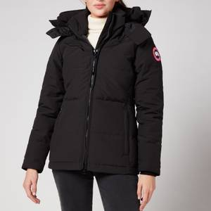 Canada Goose Women's Chelsea Parka - Notched Brim - Black