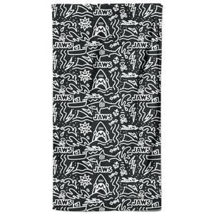 Jaws Doodle Pattern Beach Towel
