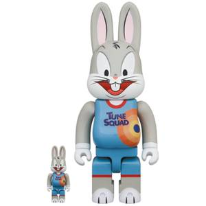 Medicom Space Jam: A New Legacy Bugs Bunny 100% X 400% R@bbrick 2-Pack