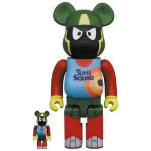 Medicom Space Jam: A New Legacy Marvin The Martian 100% X 400% Be@rbrick 2-Pack