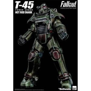 ThreeZero Fallout 1/6 Scale Armor Pack - T-45 Hot Rod Shark