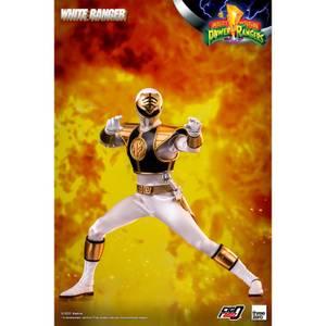 ThreeZero Mighty Morphin Power Rangers FigZero 1/6 Scale Collectible Figure - White Ranger