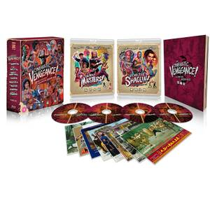 Cinematic Vengence! 8 Kung Fu Classics From Director Joseph Kuo (Eureka Classics)