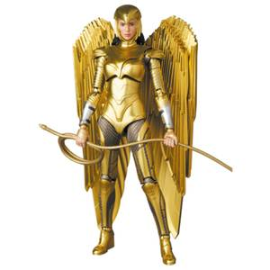Medicom Wonder Woman 1984 MAFEX Figure - Golden Armor Wonder Woman