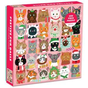 Festive Furballs Jigsaw Puzzle (500 Pieces)