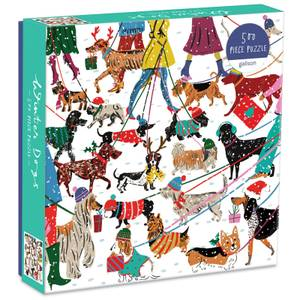 Winter Dogs Jigsaw Puzzle (500 Pieces)
